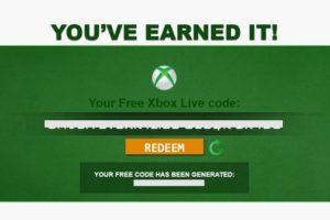 Xbox Codes - Get Free Xbox Live Codes