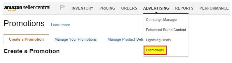 Amazon Promotions