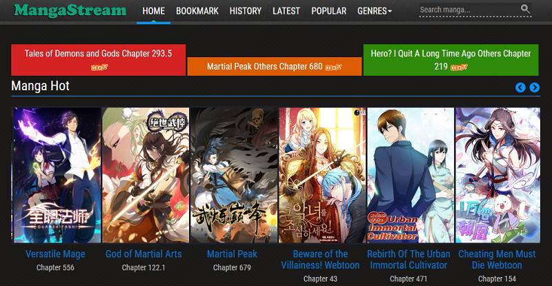 Alternatives to MangaStream To Read Manga Online For Free